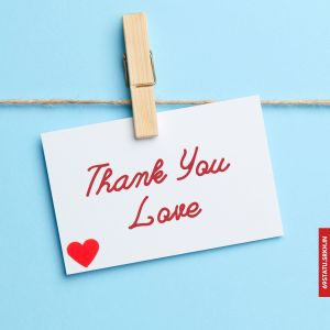 Thank You Love Images in HD full HD free download.