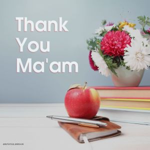 Thank You Maam Images HD full HD free download.