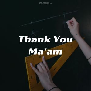 Thank You Mam Images full HD free download.