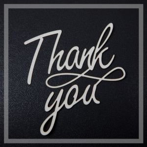 Thank You Stylish written text image full HD free download.