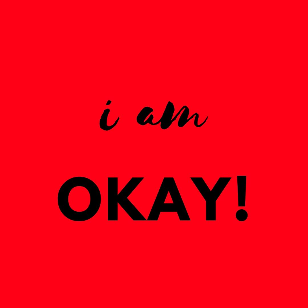 Whatapp Dp I am ok image full HD free download.