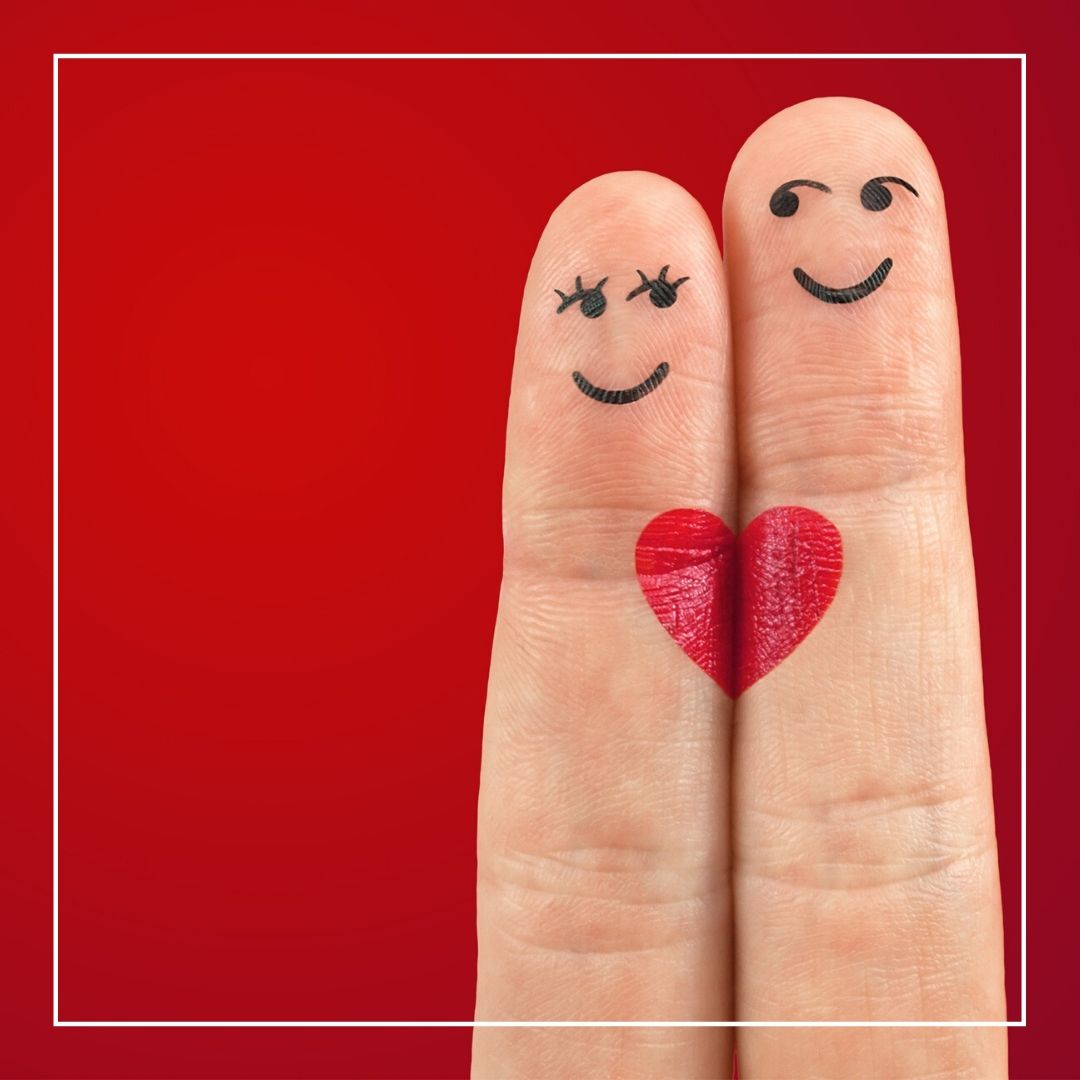 Whatapp Dp Romantic finger love symbol full HD free download.