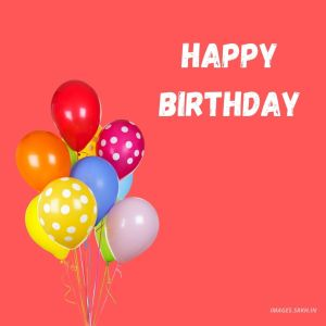 Happy Birthday Balloons Images full HD free download.