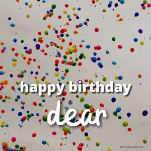 Happy Birthday Dear Images full HD free download.