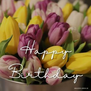 Happy Birthday Flower Images full HD free download.