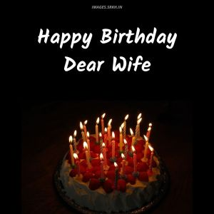 Happy Birthday Images For Wife full HD free download.
