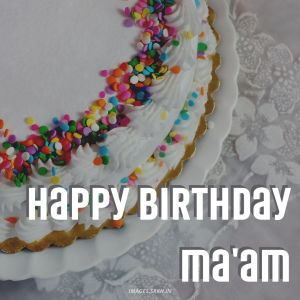 Happy Birthday Mam Images full HD free download.