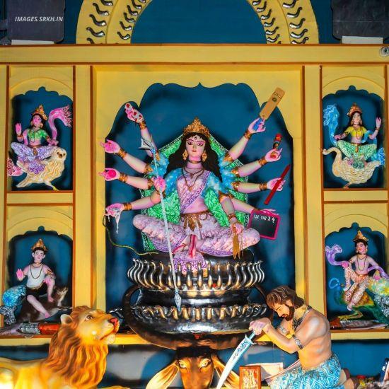 Kolkata Durga Puja Pandal Image