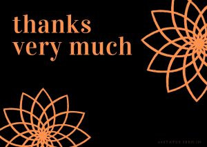 Thank You Card Images HD thanks very much full HD free download.
