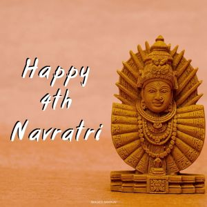 Chaturth Navratri Image full HD free download.