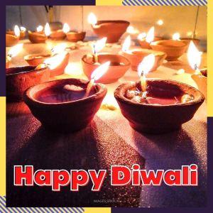 Diwali Diya hd picture full HD free download.