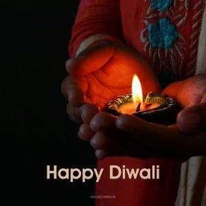 Diwali Diya full HD free download.