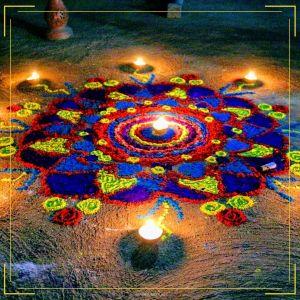 Diwali Rangoli Designs full HD free download.