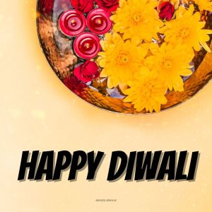 Flower Diwali full HD free download.