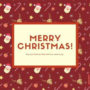 Christmas Greeting Image full HD free download.