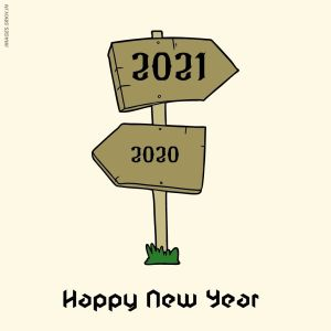 Happy New Year 2021 Png in HD full HD free download.