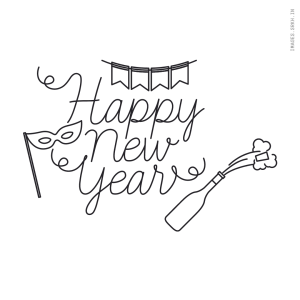 Happy New Year Png Text Image full HD free download.