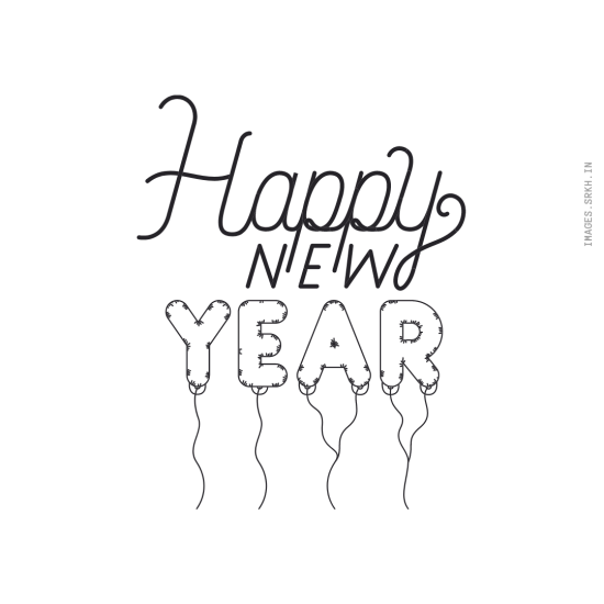 Happy New Year Png Text