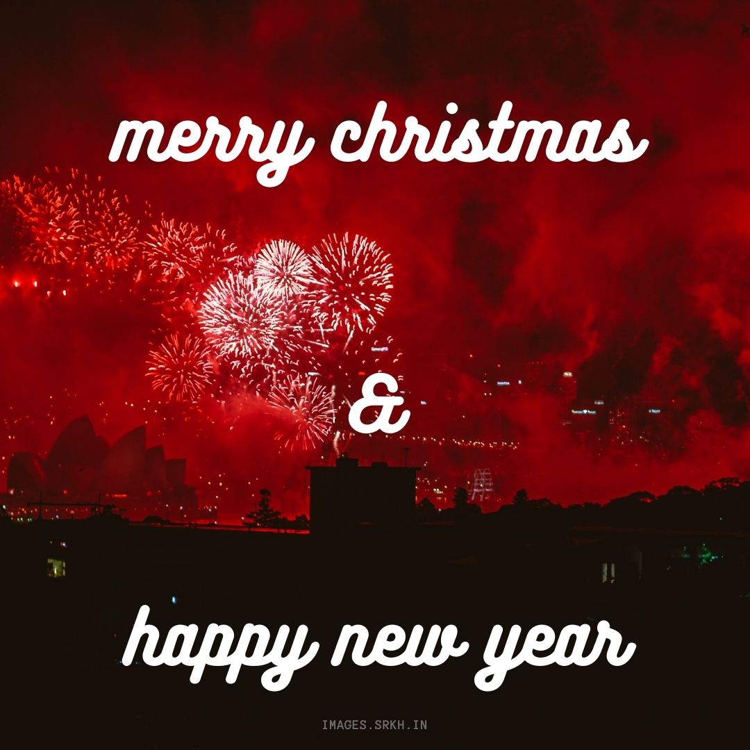 Merry Christmas And Happy New Year Png full HD free download.