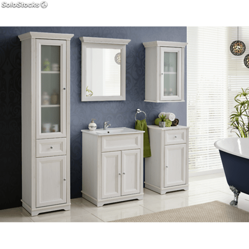 meuble sous vasque 60 x 45 x 79 cm palace white