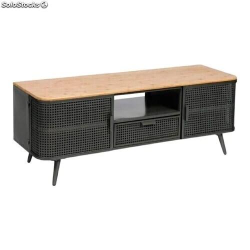 meuble tv de style industriel vintage