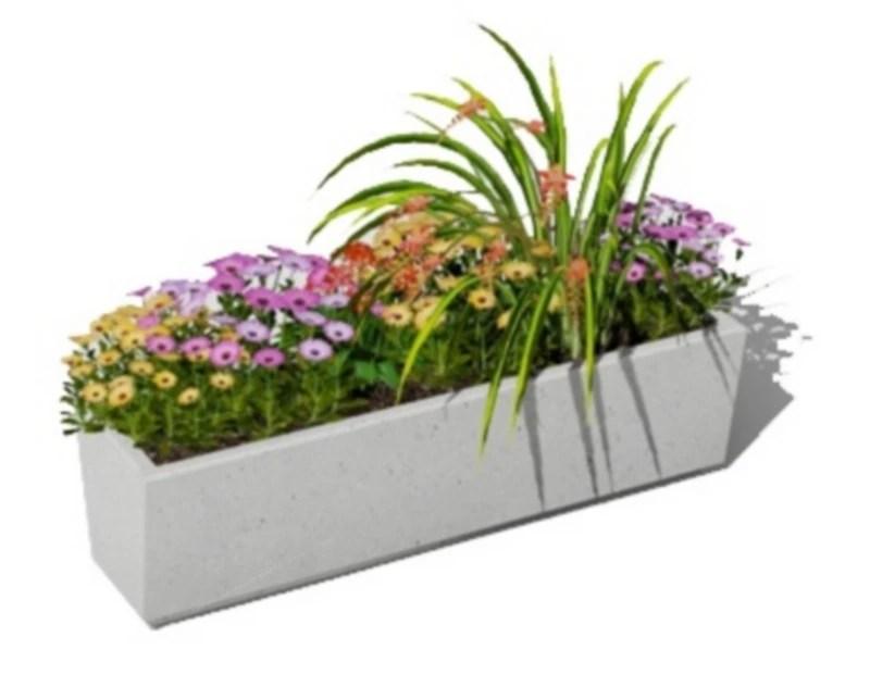 mobilier urbain jardiniere aklidous v