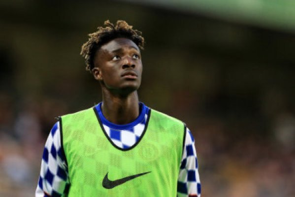 Chelsea's Tammy Abraham during the pre season friendly match at the Aviva Stadium, Dublin. Picture date 1st August 2018. Picture credit should read: Matt McNulty/Sportimage via PA…