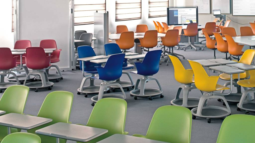 Active Learning Classroom Environment Design Steelcase