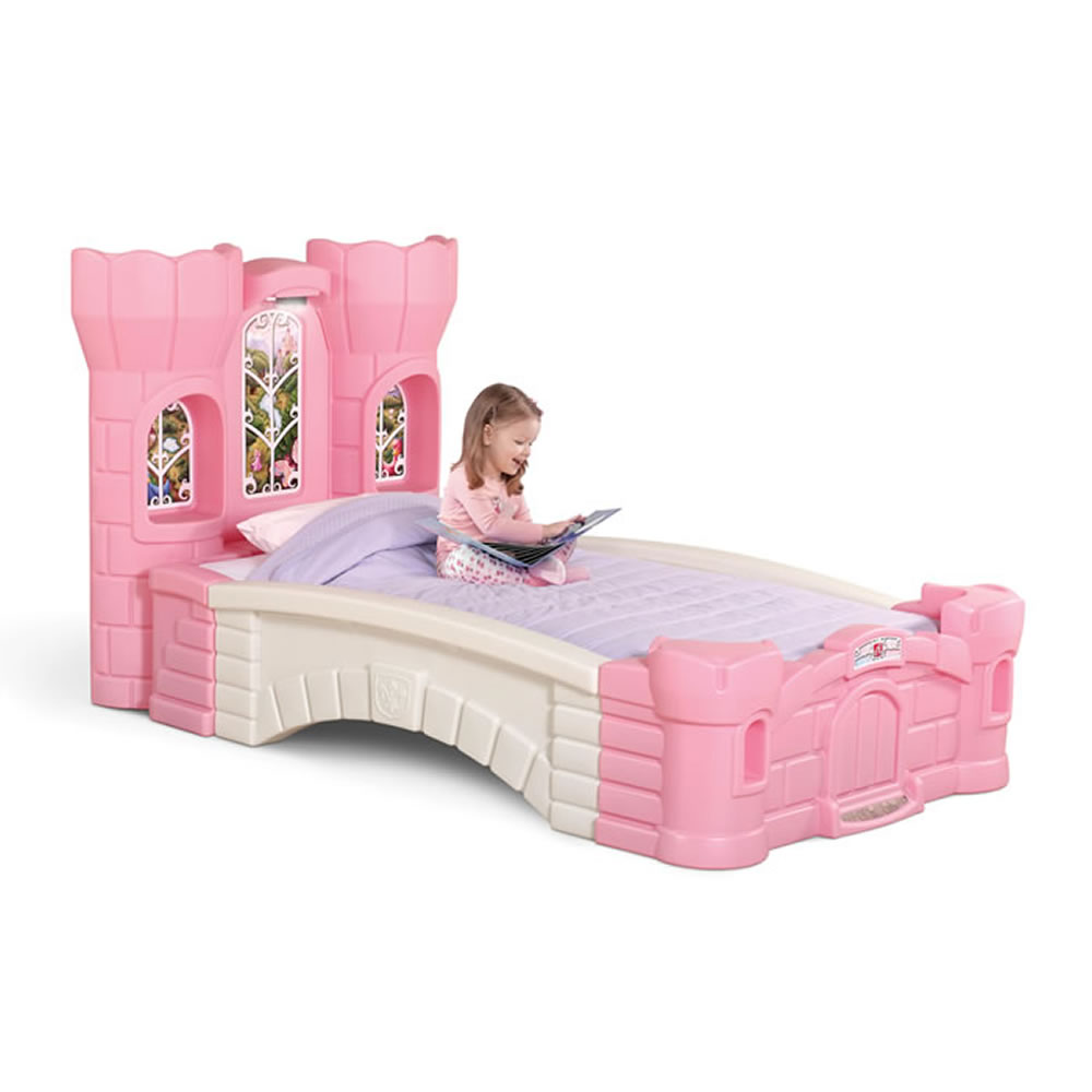 Princess Palace Twin Bed Kids Furniture By Step2