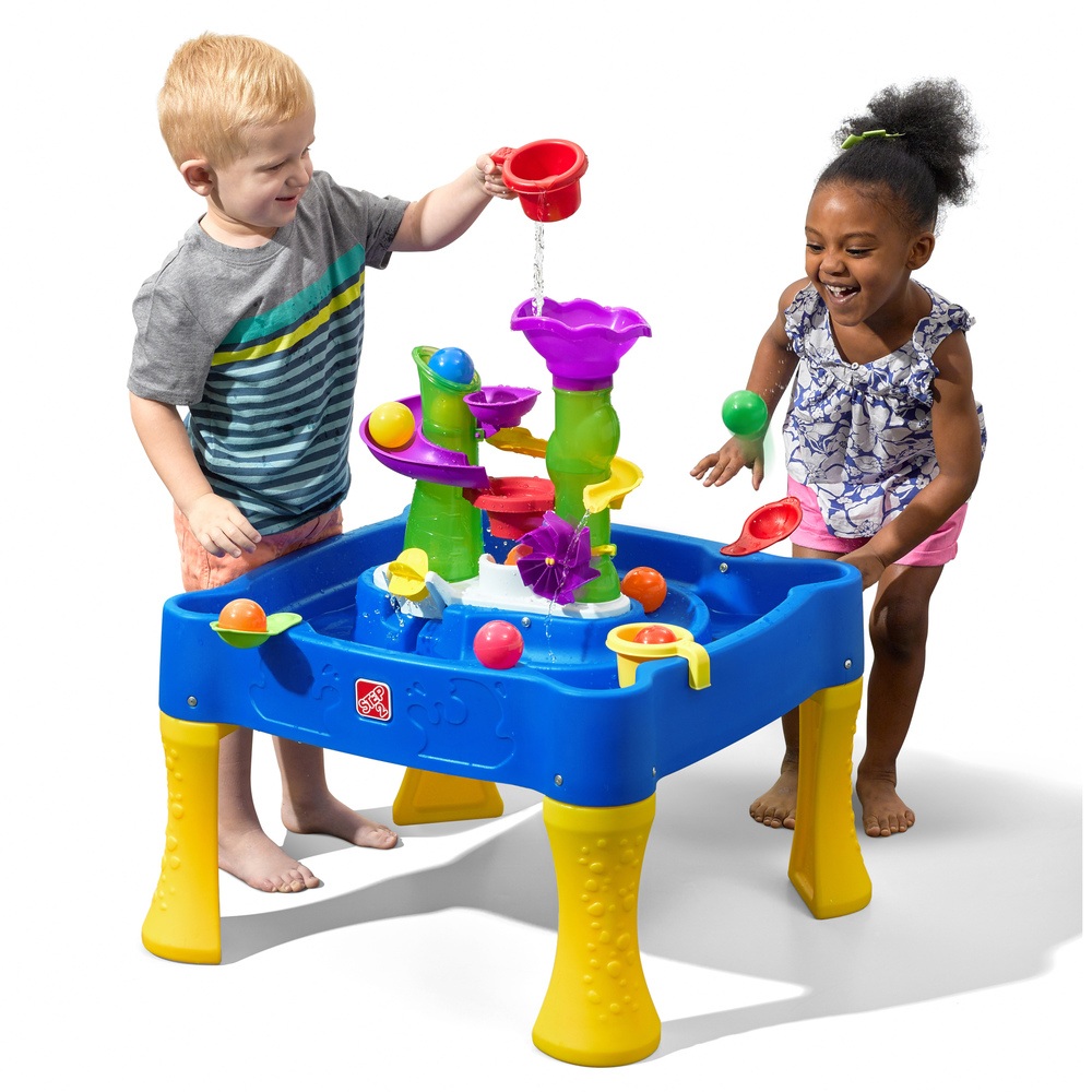 Rise Fall Water Ball Table Kids Sand Water Play Step2