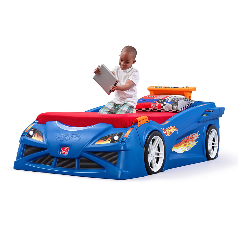 Hot Wheels Toddler To Twin Race Car Bed Kids Bed Step2