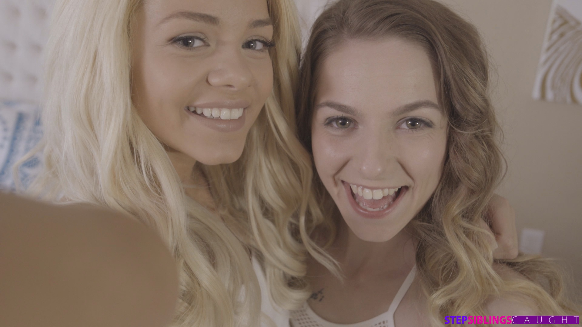 StepSiblingsCaught.com - Alana Summers,Elsa Jean: Step Brother Crashes Sisters Pajama Party - S5:E1