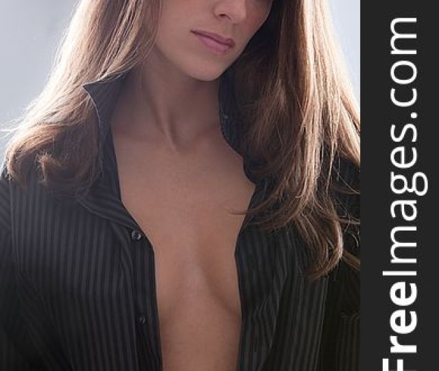 Sexy Woman In Open Man S Shirt Free Stock Images Photos 15344615 Stockfreeimages Com