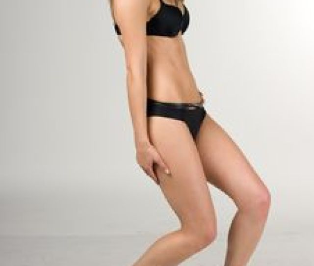 Free Sexy Girl In A Black Swimsuit Stock Images 16153364