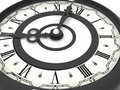 Free Clock. Eight O Clock Royalty Free Stock Photography - 2935507