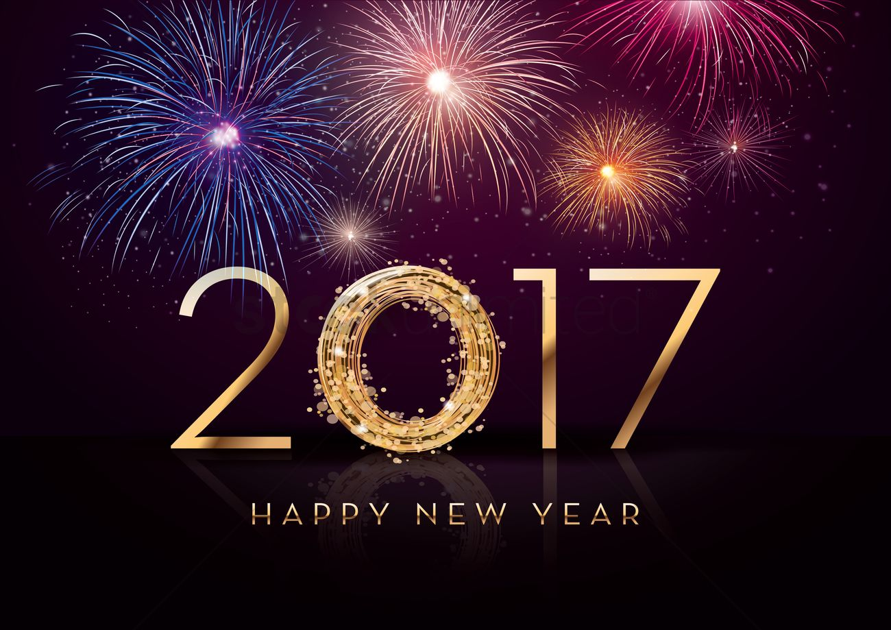2017 Merry Greetings Christmas New Year And Happy
