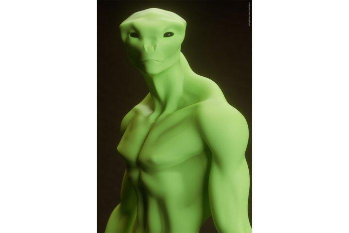 travis scott highest in the room alien poster pack of 6 multi