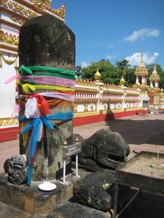 Cột đá thờ thần Silva