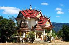 Ngôi chùa ở Pakse