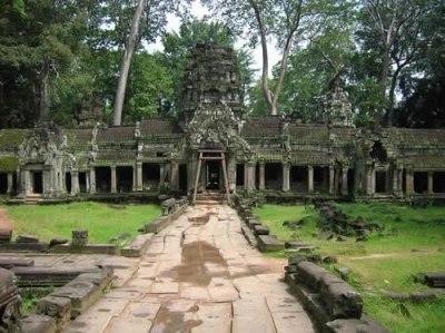 Khung cảnh Đền Ta Prohm