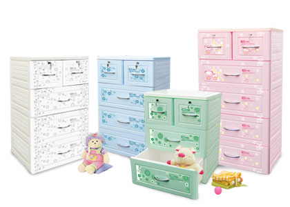 Những chiếc tủ nhựa cực xinh cho nhà thêm ngăn nắp - Archi