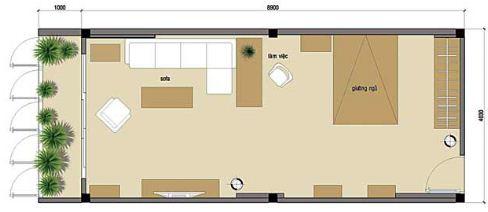 Thiết kế một không gian với nhiều công năng - Archi
