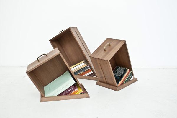 Giá sách với kiểu dáng vui nhộn - Archi