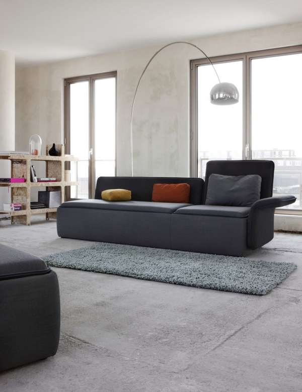 Sofa Stream - mẫu nội thất sang trọng - Archi