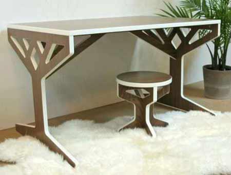 Nội thất gỗ cá tính cho nhà bạn - Archi