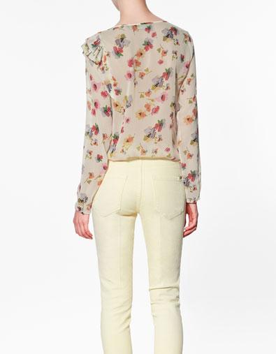 Sơ mi hoa Zara gây sốt cộng đồng thời trang - 4