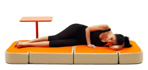 Bàn ghế kết hợp chức năng thư giãn - Archi