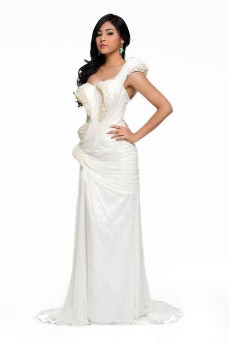 HHHV 2010: Những bộ váy dạ hội gợi cảm nhất, Thời trang, Hoa hau hoan vu 2010, hoa hau, thoi trang, nguoi dep, ngục dep, eo thon, vay da hoi, vay,