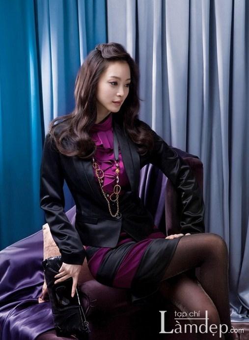 xu huong thoi trang 2012 Han Quoc