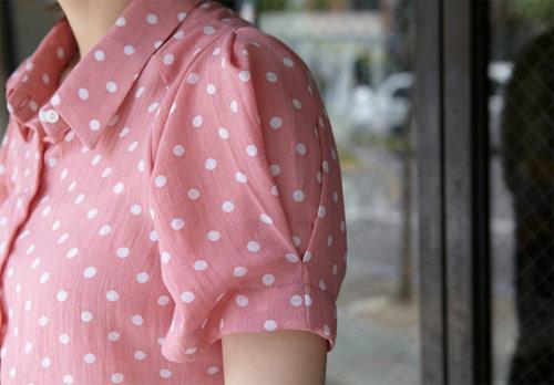Xinh yêu cùng áo sơ mi chấm bi - 15